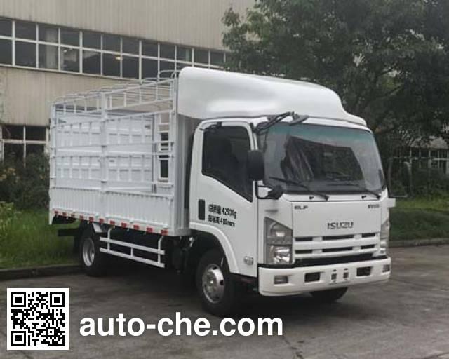 Qingling Isuzu QL5041CCYA6HAJ грузовик с решетчатым тент-каркасом