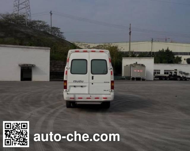 Qingling Isuzu QL5041XLC3HARJ refrigerated truck
