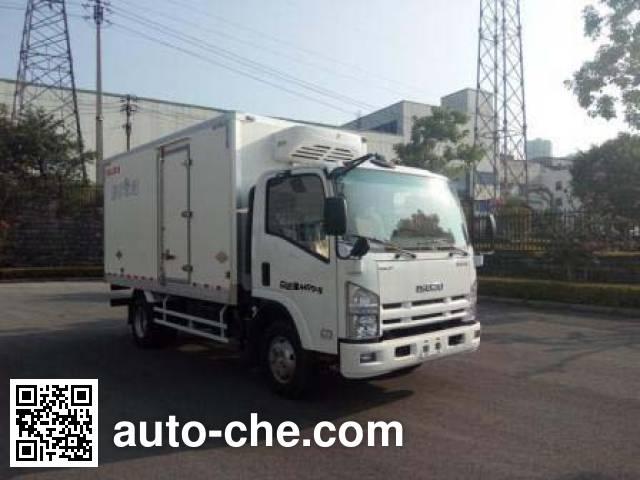 Isuzu QL5043XLCA5HA refrigerated truck