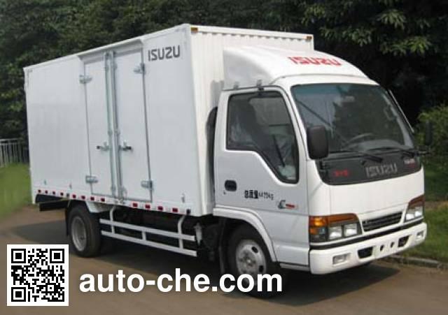 Qingling Isuzu QL5070XXY3HARJ box van truck