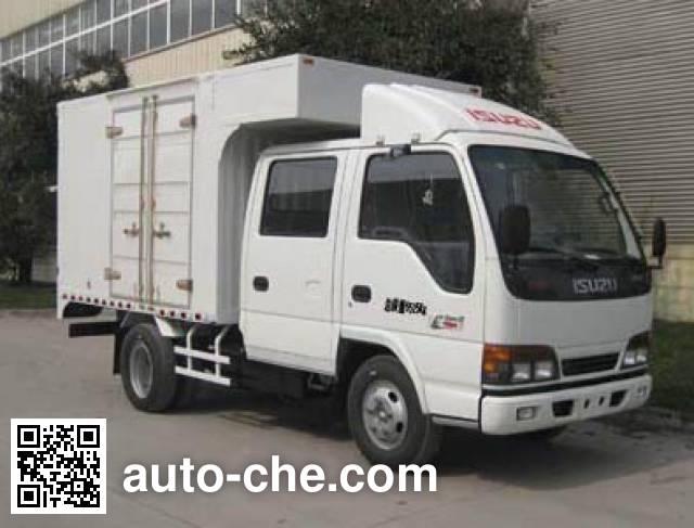 Qingling Isuzu QL5070XXY3HWRJ box van truck