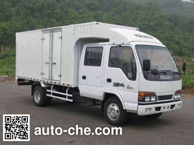Qingling Isuzu QL5070XXY3KWRJ box van truck
