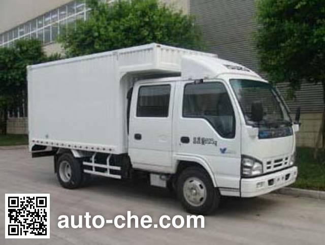 Qingling Isuzu QL5070XXYA1HWJ box van truck