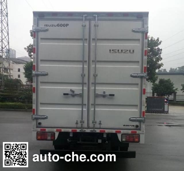 Qingling Isuzu QL5072XXYA5KAJ box van truck