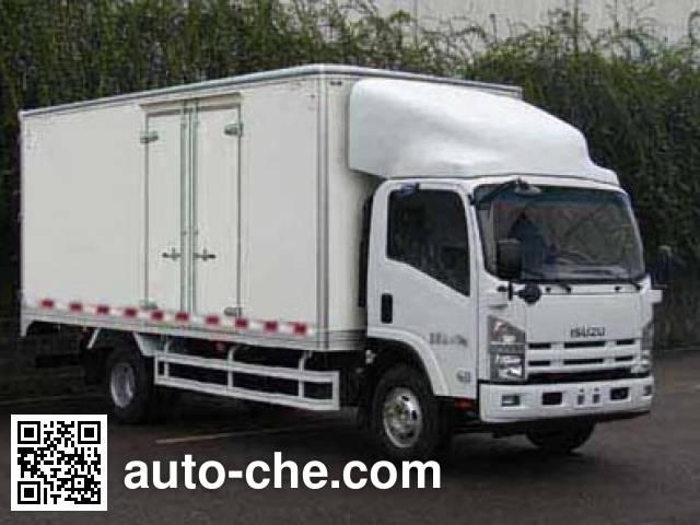 Qingling Isuzu QL5101XXY9KARJ box van truck