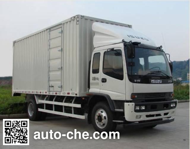 Qingling Isuzu QL5140XXY9QFRJ box van truck