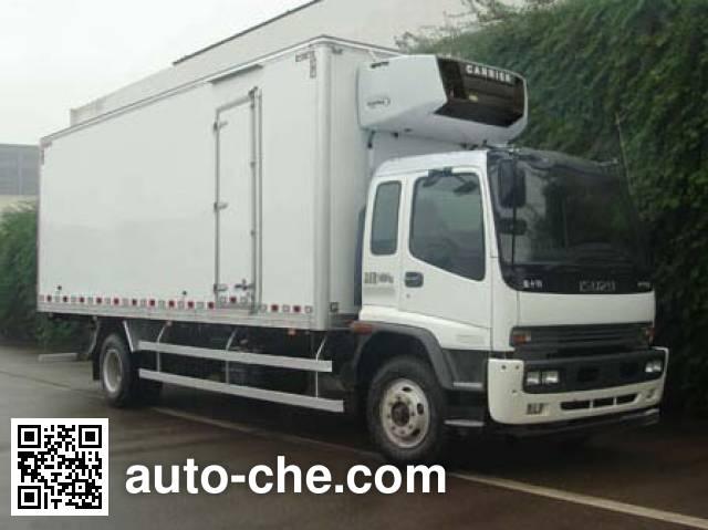 Qingling Isuzu QL5160XLC9NFRJ refrigerated truck