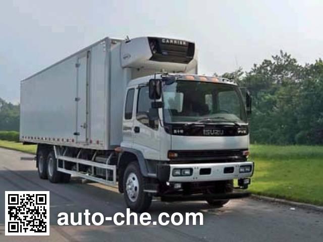 庆铃牌QL5250XLCDTFZJ冷藏车