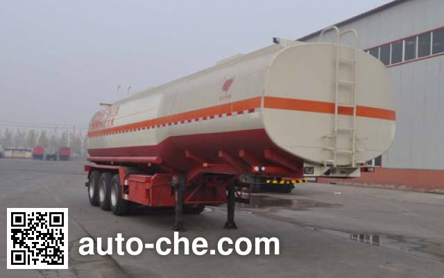 Qilin QLG9400GRH lubricating oil tank trailer