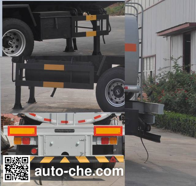 Qilin QLG9400GRY flammable liquid tank trailer