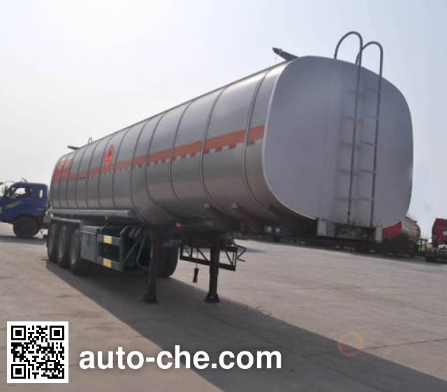 Qilin QLG9401GRYA flammable liquid tank trailer