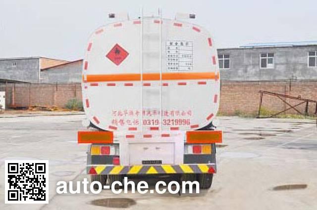 Qilin QLG9401GRYB flammable liquid tank trailer