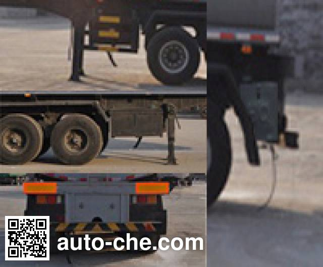 Qilin QLG9402GRY flammable liquid tank trailer