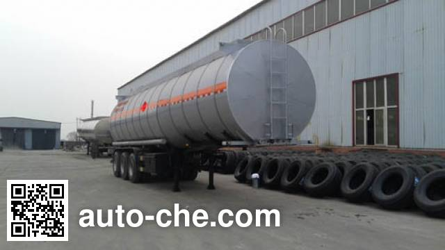 Qilin QLG9402GRYA flammable liquid tank trailer