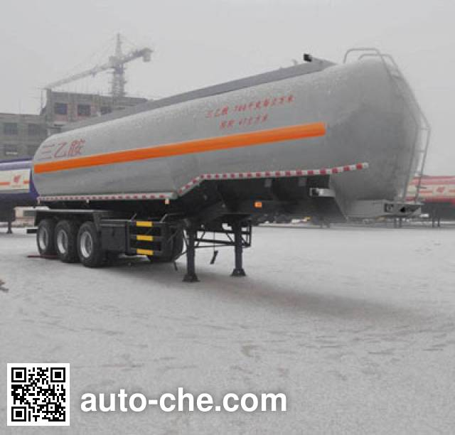 Qilin QLG9403GRY flammable liquid tank trailer