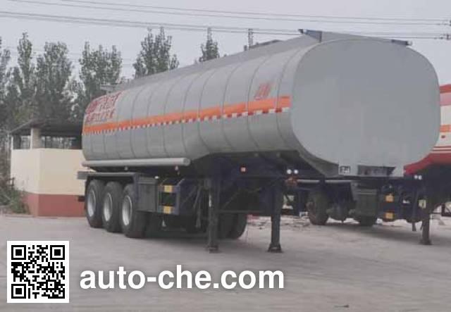 Qilin QLG9403GRYA flammable liquid tank trailer
