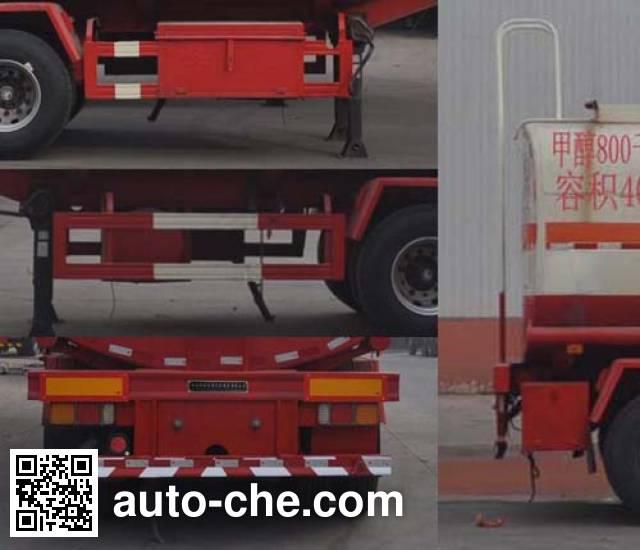 Qilin QLG9404GRYA flammable liquid tank trailer