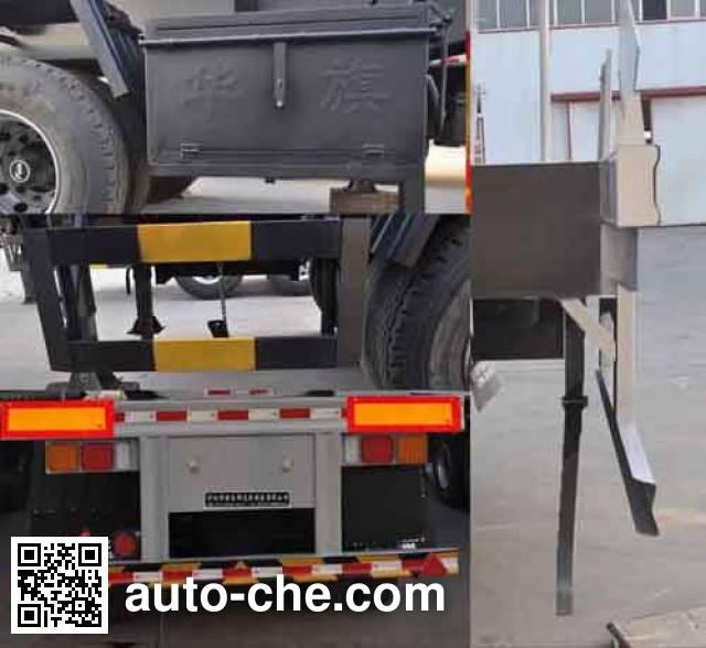 旗林牌QLG9405GFW腐蚀性物品罐式运输半挂车