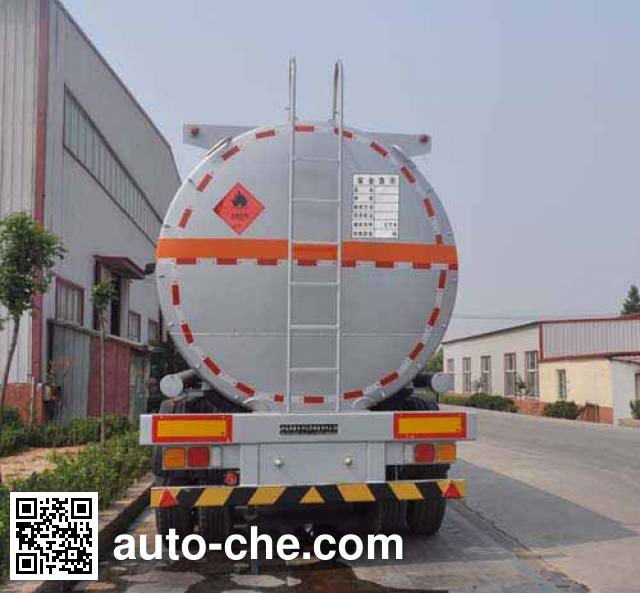 Qilin QLG9405GRYA flammable liquid tank trailer