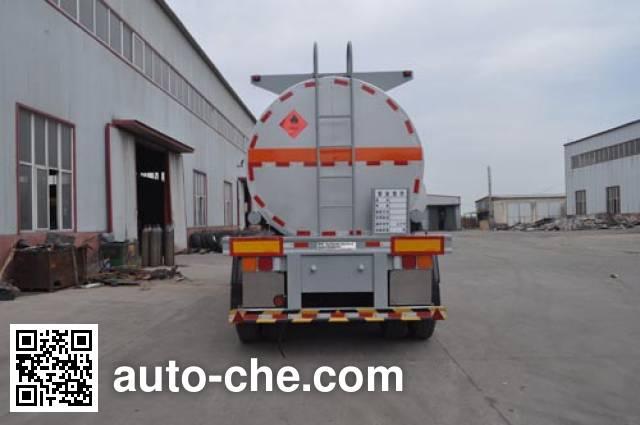Qilin QLG9405GRYB flammable liquid tank trailer