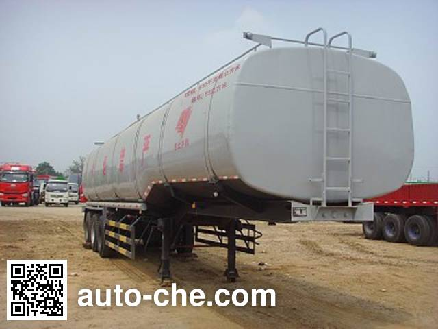 Qilin QLG9406GRY flammable liquid tank trailer