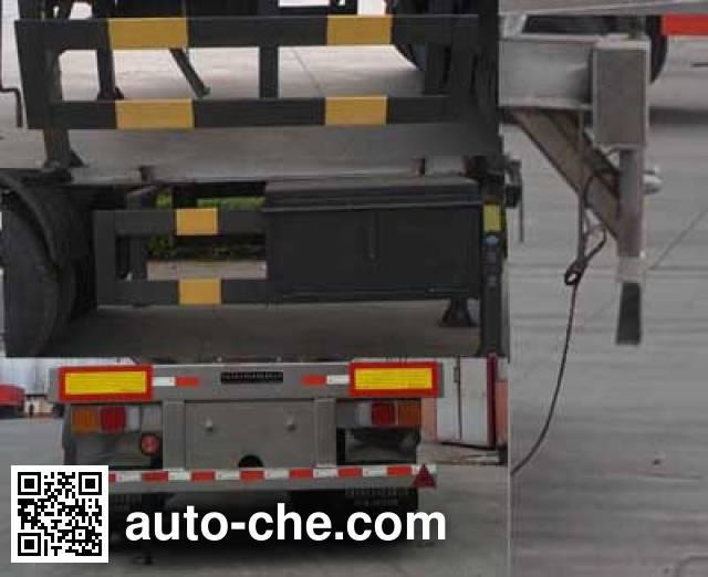 Qilin QLG9406GRYA flammable liquid aluminum tank trailer