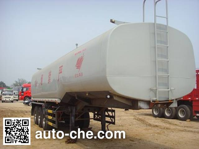 Qilin QLG9407GRY flammable liquid tank trailer
