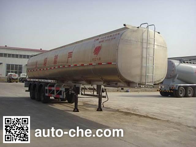 Qilin QLG9408GRY flammable liquid tank trailer