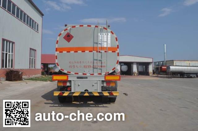 Qilin QLG9409GRY flammable liquid tank trailer