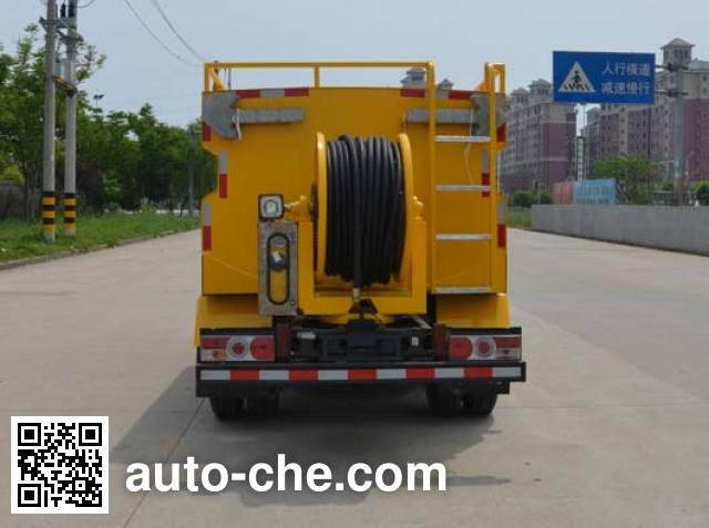 Jieli Qintai QT5077GQX street sprinkler truck