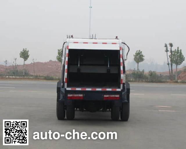 Jieli Qintai QT5080ZYSDFA4 garbage compactor truck
