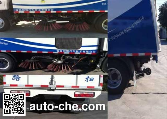 赛哥尔牌QTH5076TSL扫路车