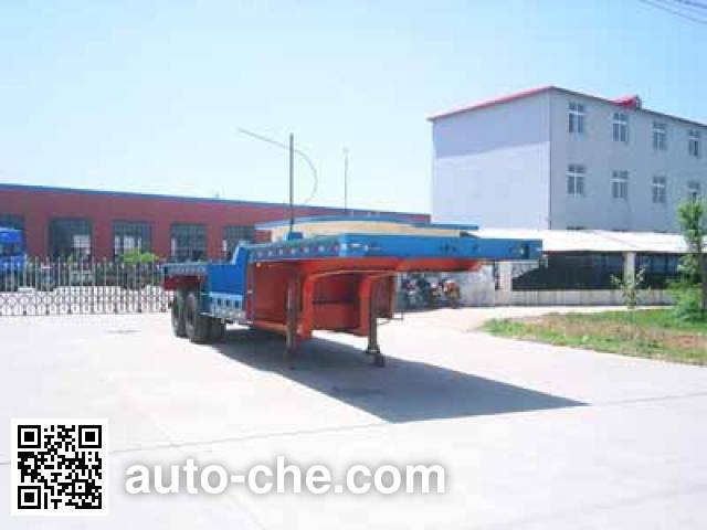 Chuangang QTY9290TTS molten iron trailer