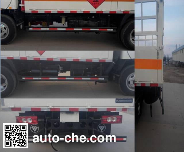 Rongwo QW5041TQP gas cylinder transport truck