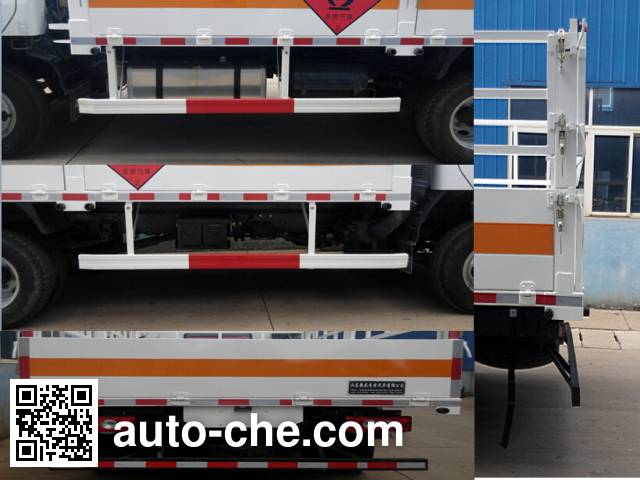 Rongwo QW5042TQP gas cylinder transport truck