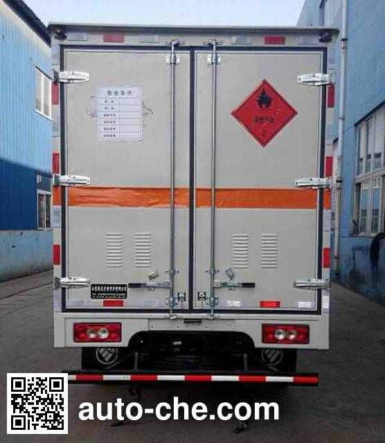 Rongwo QW5043TQP gas cylinder transport truck