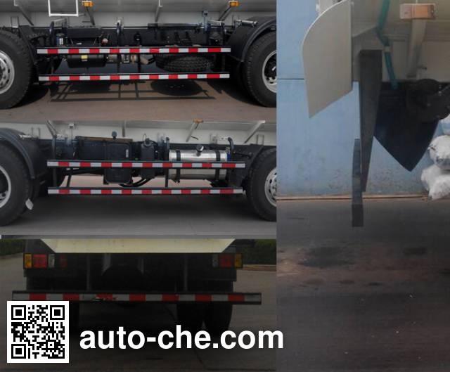 荣沃牌QW5250ZWX污泥自卸车