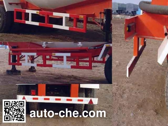 荣沃牌QW9400GSN散装水泥运输半挂车