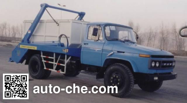 Jieshen QXL5113ZBS skip loader truck