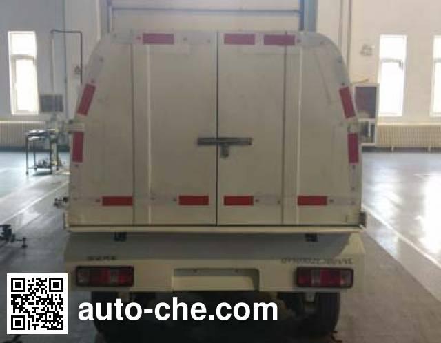 Qingyuan QY5022ZLJBEVYL electric dump garbage truck