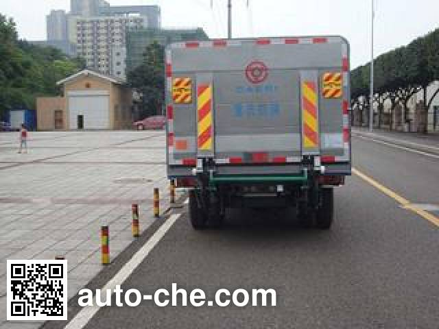 Zhongte QYZ5070XTY4 sealed garbage container truck