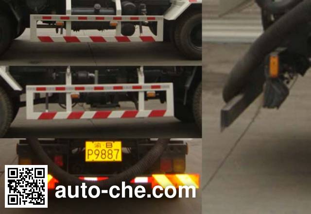 Zhongte QYZ5160GXW4 sewage suction truck