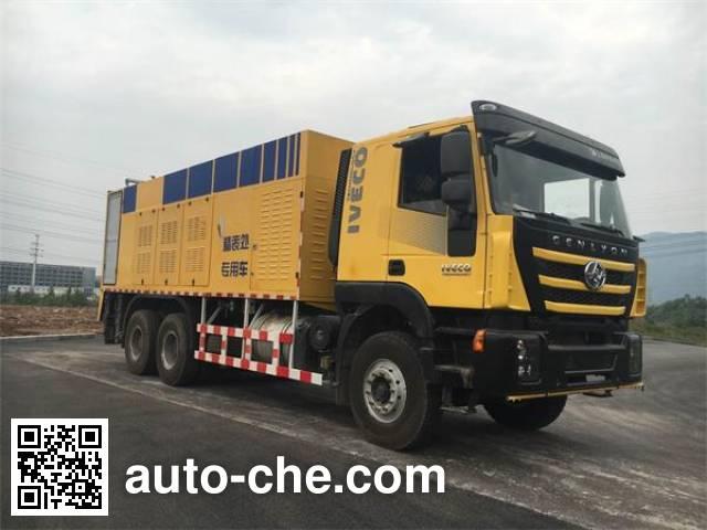 Zhongte QYZ5250TFC synchronous chip sealer truck