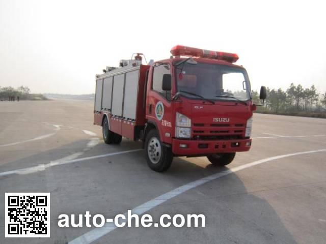 Yongqiang Aolinbao RY5105GXFSG30 fire tank truck