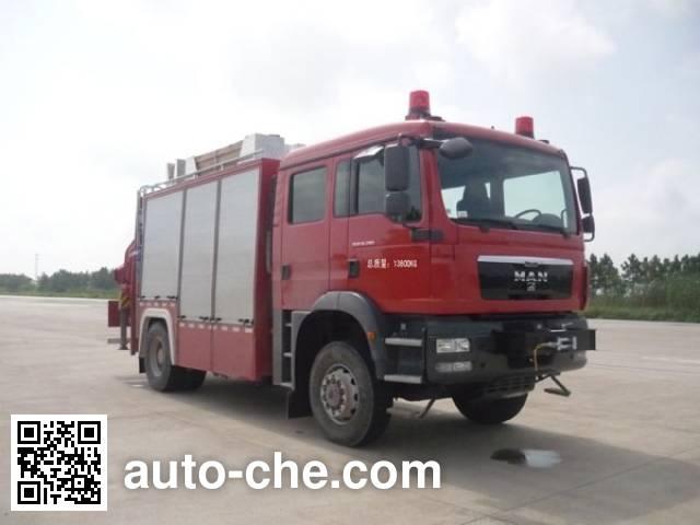 永强奥林宝牌RY5141TXFJY100E抢险救援消防车