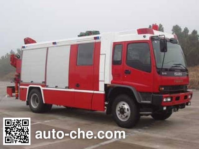 卢森宝亚永强牌RY5145TXFJY90A抢险救援消防车