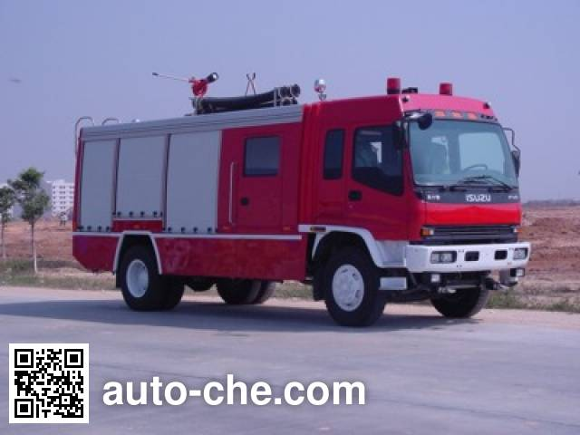 Rosenbauer RY5155GXFSG50 fire tank truck