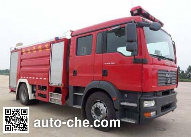 卢森宝亚永强牌RY5161GXFPM60泡沫消防车