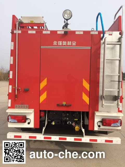 Yongqiang Aolinbao RY5171GXFPM60/01 foam fire engine