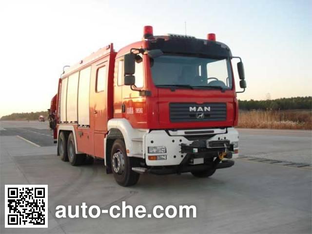 永强奥林宝牌RY5201TXFJY200A抢险救援消防车